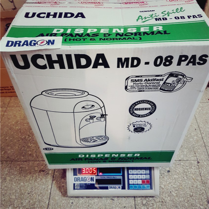 harga Dispenser uchida hot dan normal md08p 320w Tokopedia.com