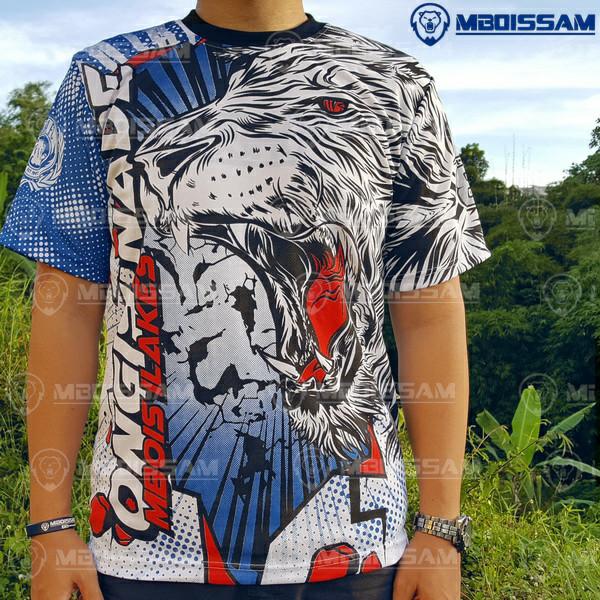 harga Baju kaos jersey suporter arema aremania baru murah bahan drifit Tokopedia.com