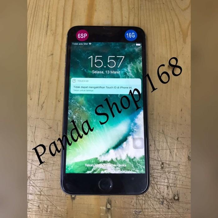 Jual Handphone Iphone 6s Plus 16gb No Fingerprint Grey Ori
