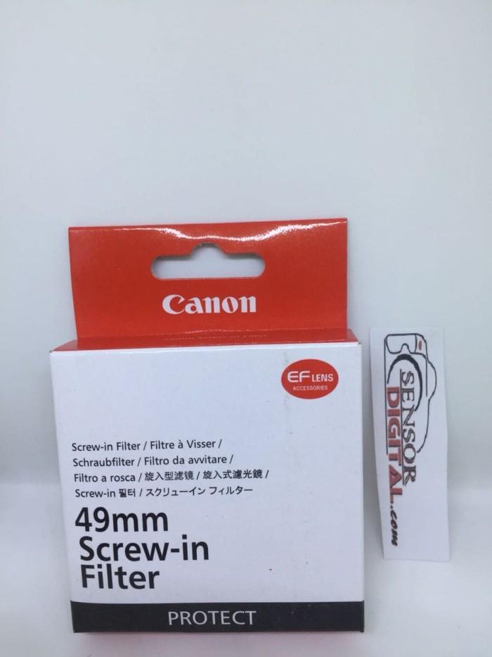 harga Filter uv canon 49mm lens 50mm stm 15-45mm eos m3 m5 m6 m10 nikon sony Tokopedia.com