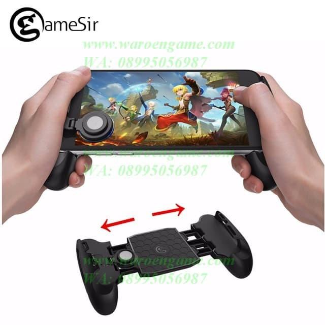 harga Gamesir f1 moba joystick phone grip with adjustable / strech swing arm Tokopedia.com