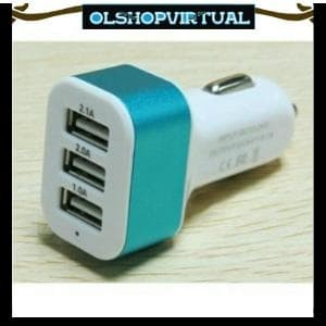 Info 3 In 1 Car Charger Travelbon.com