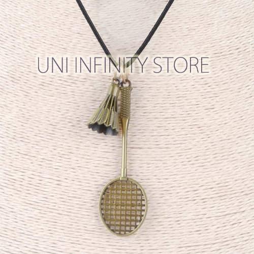 harga Jwne0285 bronze kalung raket bulu tangkis pria wanita badminton racket Tokopedia.com