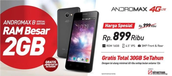 harga Handphone smartphone andromax b se special edition ram 2gb rom 16gb Tokopedia.com
