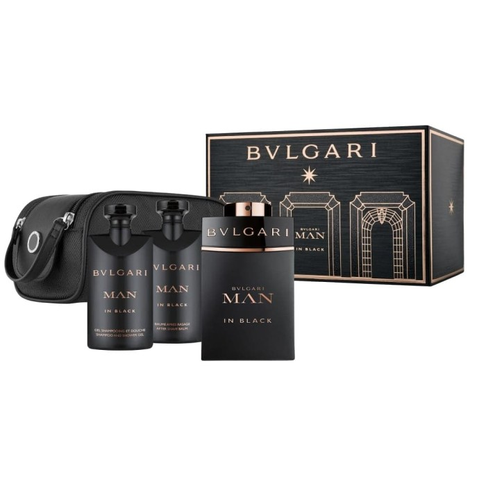 Parfum original bvlgari man in black giftset