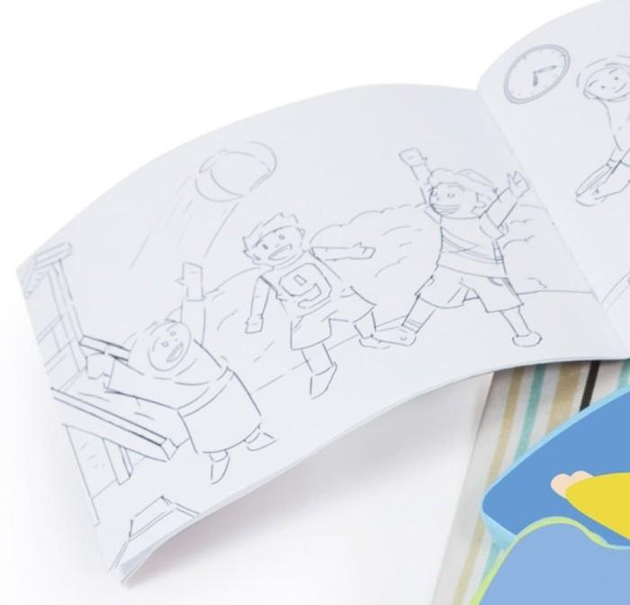 Jual Set Kotak Bekal Makanan Anak Puzzle Islami Bonus Tas Buku