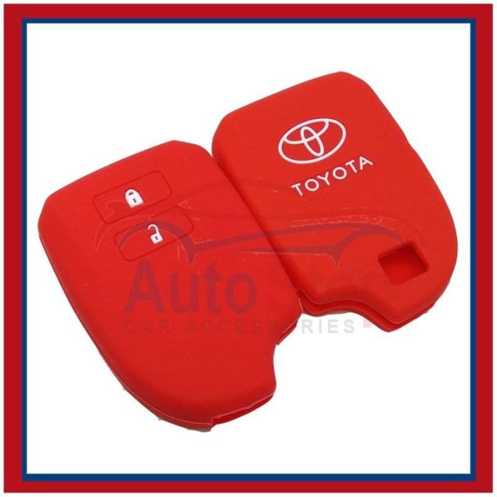 Keyshirt Kondom Kunci Silikon Sarung Remote Toyota All New Yaris TRD