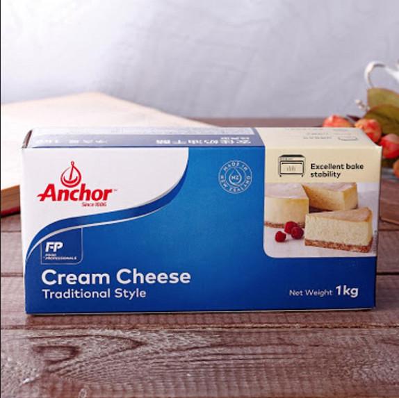 gambar Cream Cheese Anchor kemasan 1 kg