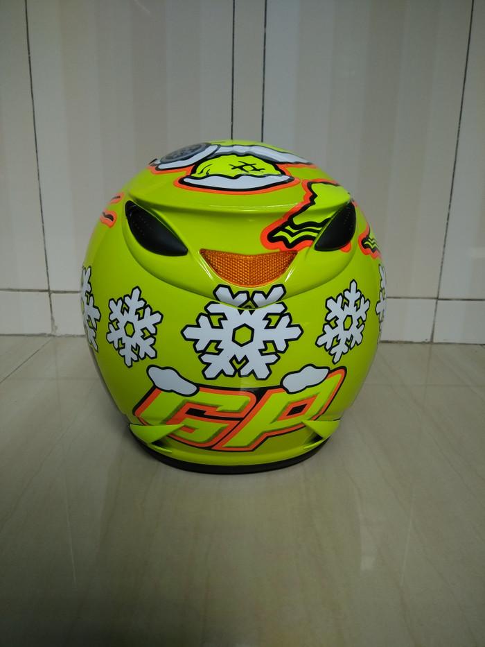 helm centro motif, Bukan ink, kyt, agv, zeus, jpx, bogo, 3