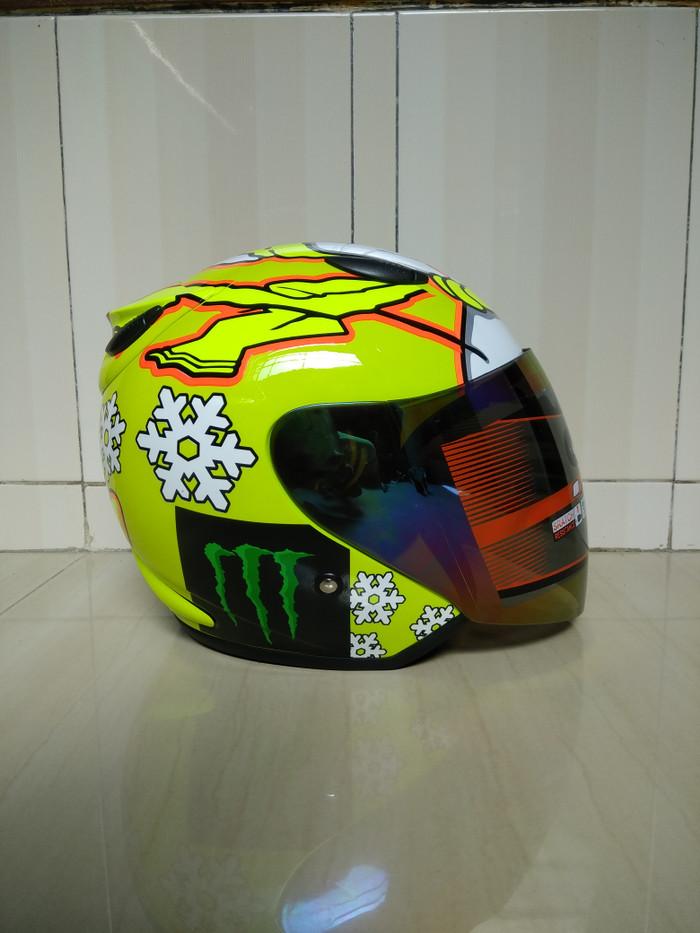 helm centro motif, Bukan ink, kyt, agv, zeus, jpx, bogo, 1