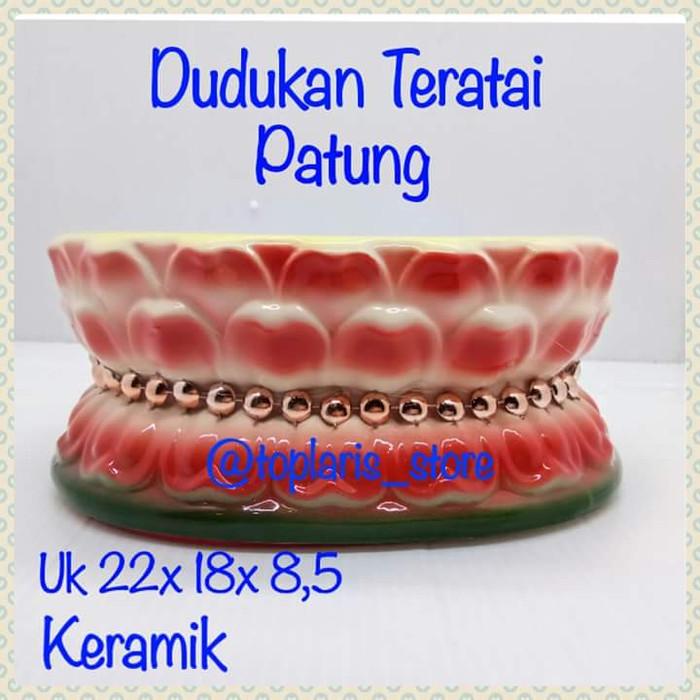 harga Dudukan patung teratai keramik uk 14 Tokopedia.com