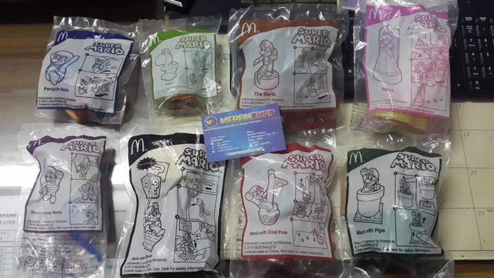 Foto Produk McD SUPER MARIO (FIGURE) dari MEDANSHOP.net
