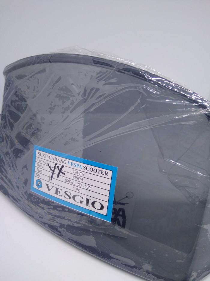 harga Vesgio visor smoke vespa excel 150 Tokopedia.com