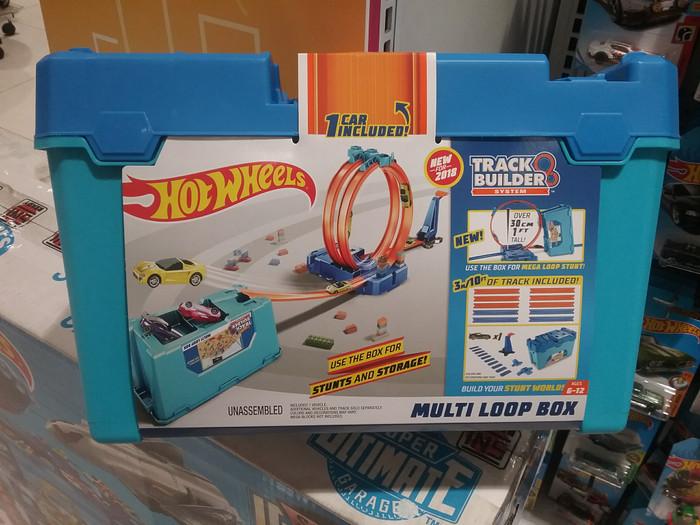 5896bc1282b Jual Hot Wheels Track Builder System Multi Loop Box Anicore