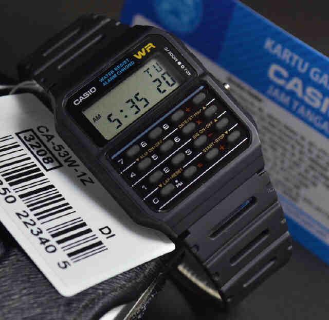 harga Jam tangan casio ca-53w-1z kalkulator calculator Tokopedia.com