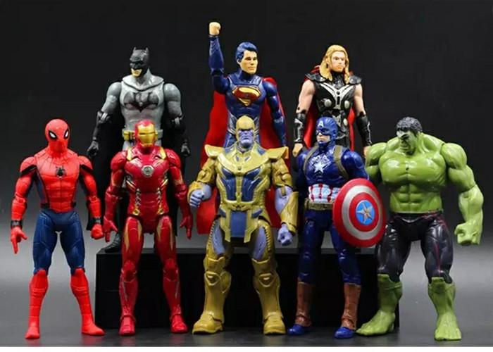 Thor Marvel Avengers 3D Red//Black Ironman Captain America Hulk Lunch Bag//Box