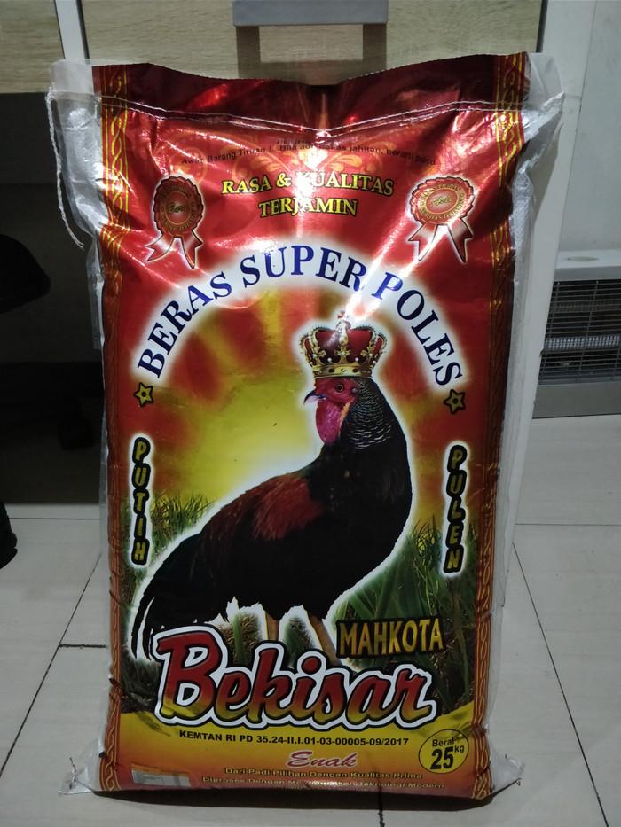 harga Beras premium punel cap ayam mahkota bekisar 25 kg ( khusus go send ) Tokopedia.com