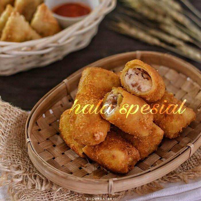 Jual Risoles Isi Daging Kebab Keju Frozen Food Cemilan Enak Murah