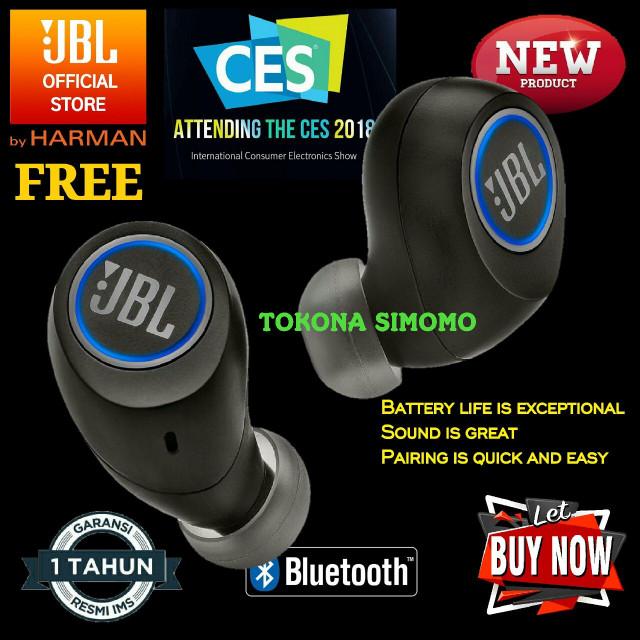 harga Jbl free truly wireless in-ear headphones original Tokopedia.com