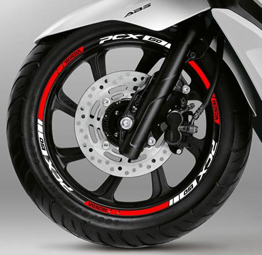 harga Stiker list velg motor wheel sticker new honda pcx 150 ring 14 Tokopedia.com