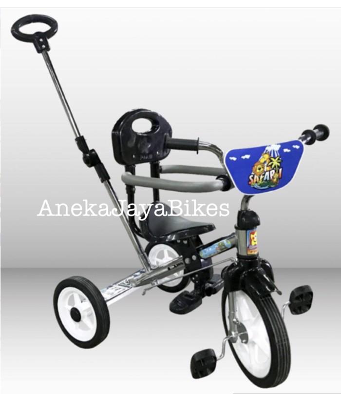 harga Sepeda anak roda tiga pmb stainless chrome dorongan jagaan Tokopedia.com