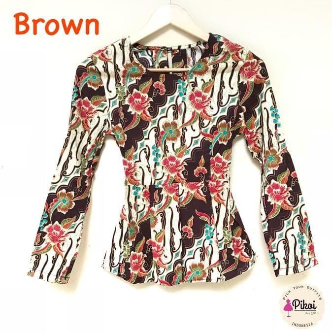 Jual New Baju Batik Wanita Modern Batik Kantor Murah Atasan 7028d90773