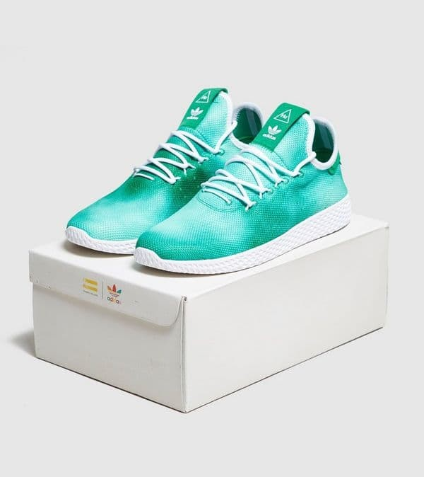 4f7d9a845 Jual adidas Originals x Pharrell Williams Holi Tennis Hu green ...