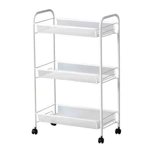 harga Ikea Hornavan Rak Troli Roda Trolley Barang Makanan Uk 26x48x77 Cm Blanja.com