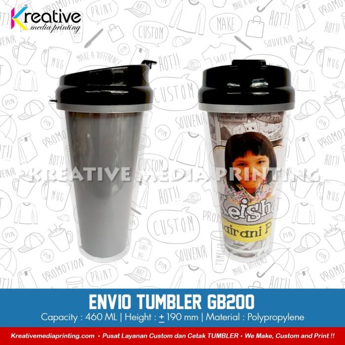 harga Cetak tumbler gb200 insert paper technoplast Tokopedia.com