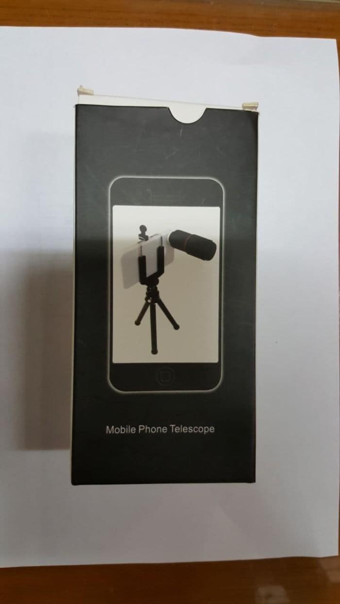 harga Mobile lensa tele telezoom zoom 8x telescope jepit 8 holder tripod Tokopedia.com