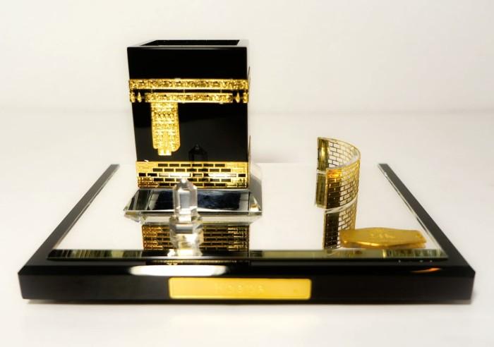harga Miniatur kristal kabah kecil di lapisi 24k Tokopedia.com
