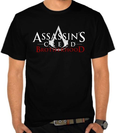 Jual Kaos Assassin S Creed Brotherhood Logo Nmawq Kota Bandung