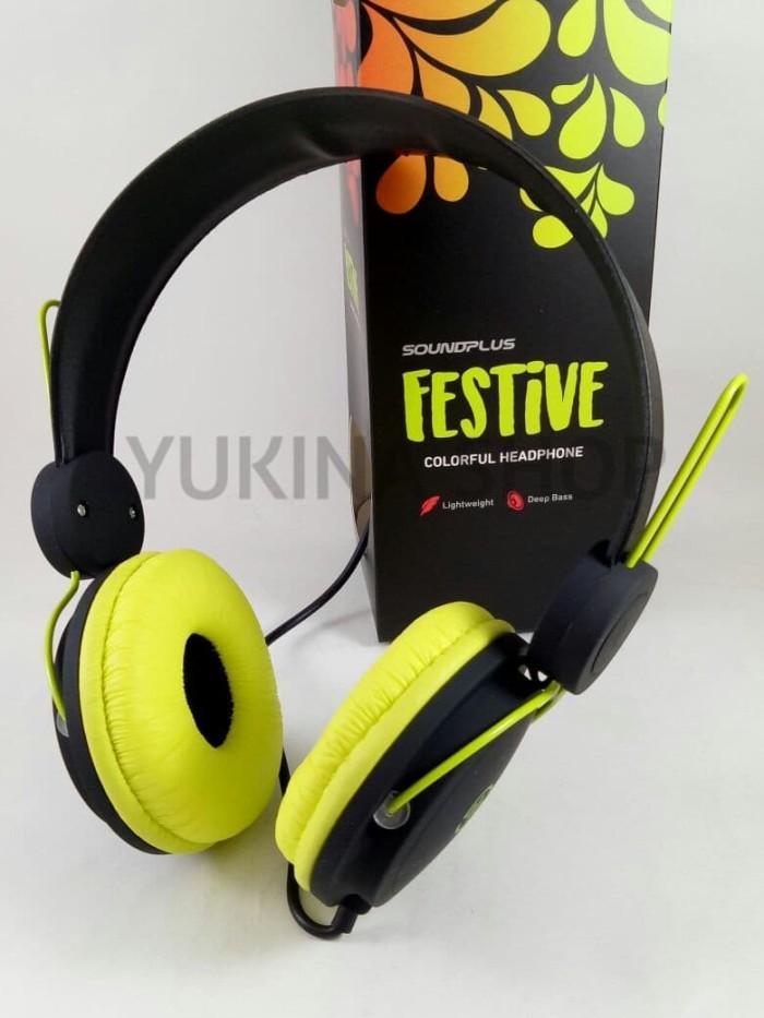harga Bergaransi soundplus headphone macaron festive edition Tokopedia.com