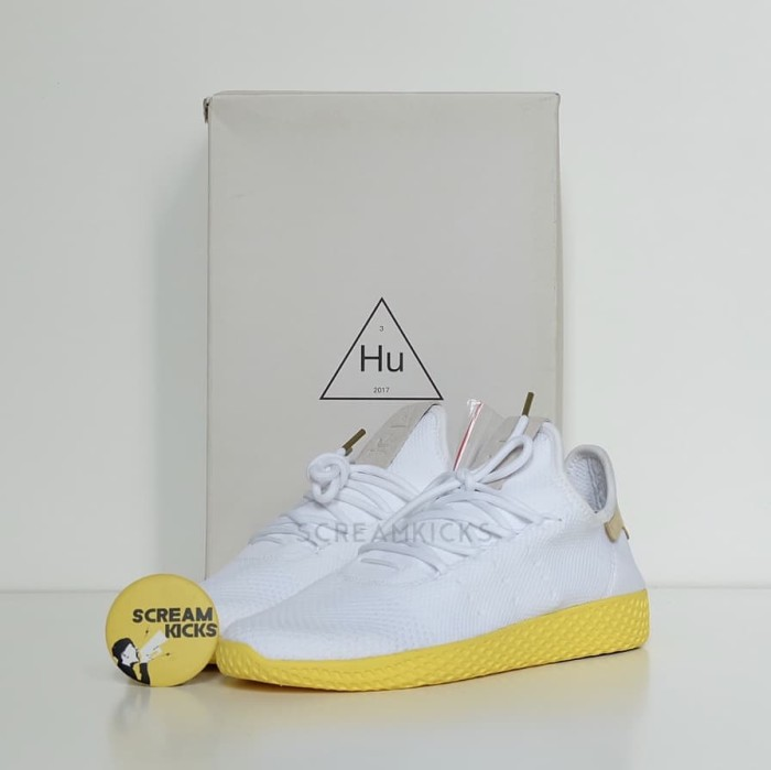 369d9dd95 Jual Adidas Pharrell Williams Tennis Hu  Yellow  - Kota Tangerang ...