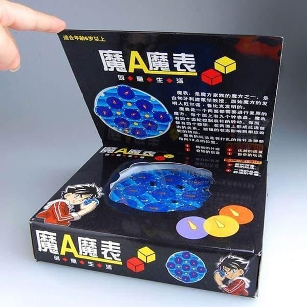 harga Lingao magic clock with box (lebih aman) - rubiks rubik ling ao Tokopedia.com