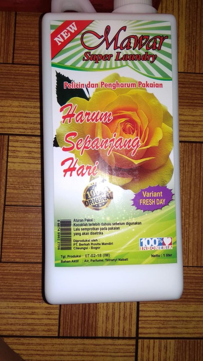 Jual Pelicin Dan Pewangi Mawar Super Laundry Bandung By Brm