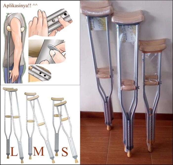 Cari Harga Alat Bantu Jalan Tongkat Ketiak Kruk Crutch Sella Best - Klik Harga