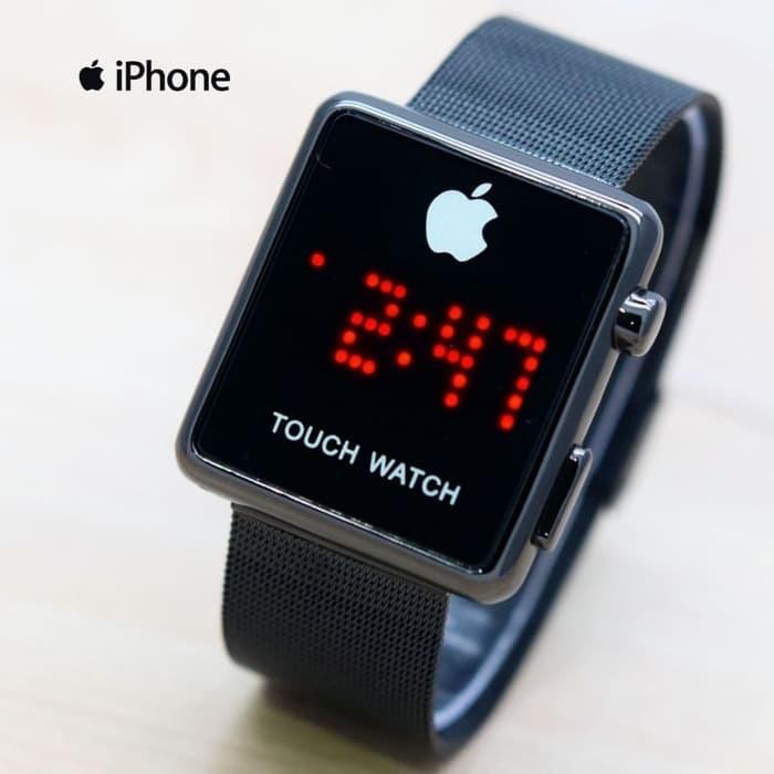 Jual Jam tangan Pria Wanita Import Obral Tahan Air Iphone Tali Pasir ... 7454661a28