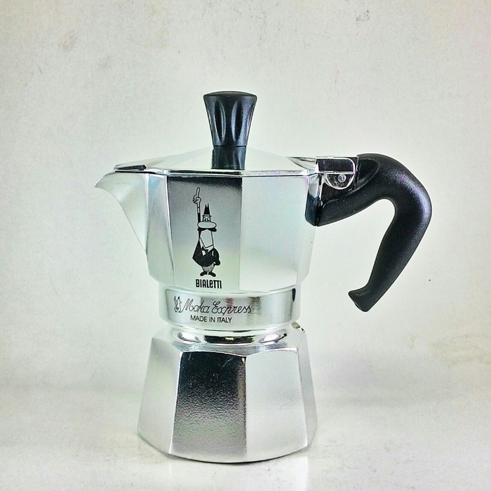 harga Bialetti moka express moka pot coffee maker for 1 cup Tokopedia.com