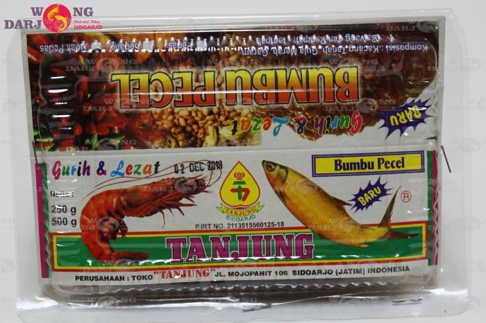 Bumbu pecel tanjung oleh-oleh khas sidoarjo 500gr termurah