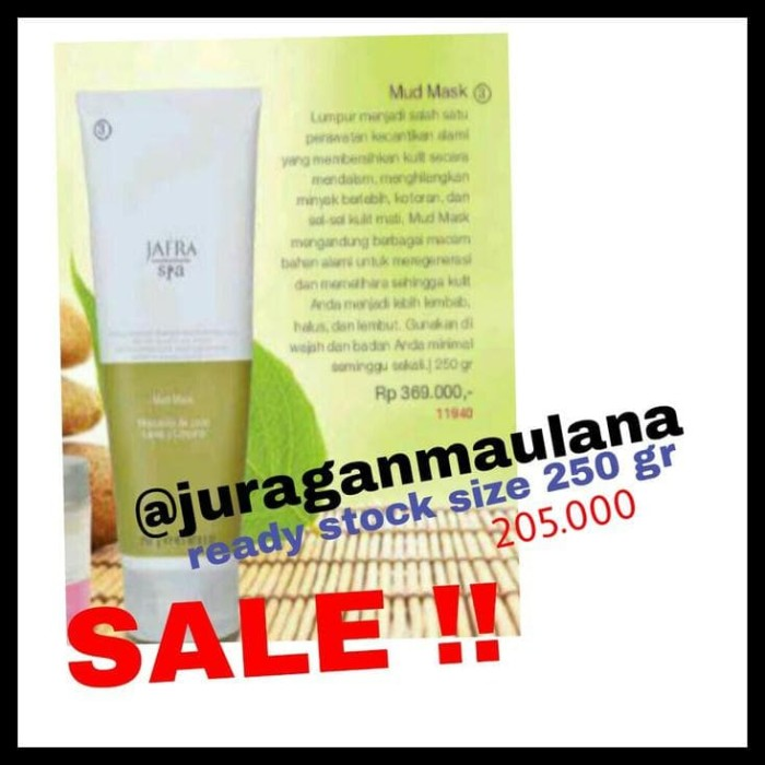 Info Jafra Mud Mask Travelbon.com