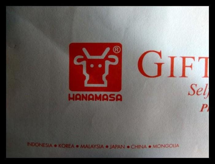 harga (Baru!!) Voucher Makan Restaurant Hanamasa .... Tokopedia.com