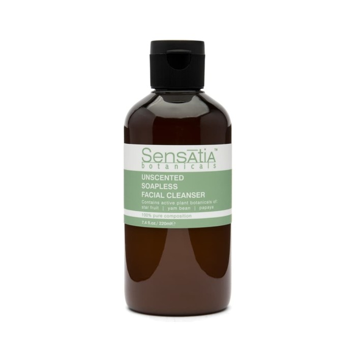 Foto Produk Sensatia Botanicals Unscented Soapless Facial Cleanser - 220 ml dari Sensatia Botanicals