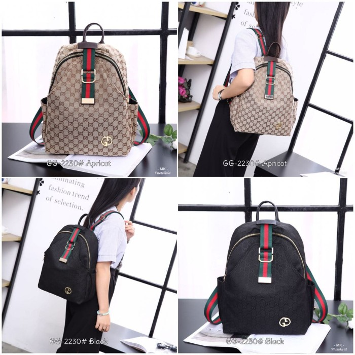 Jual Ransel Gucci New Solid GG-2230  d325234464