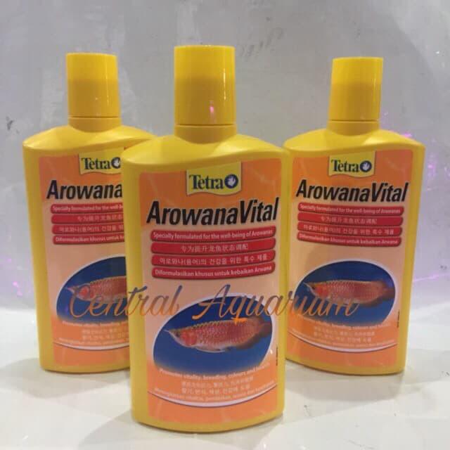 harga Tetraaqua arwana vital 500ml Tokopedia.com
