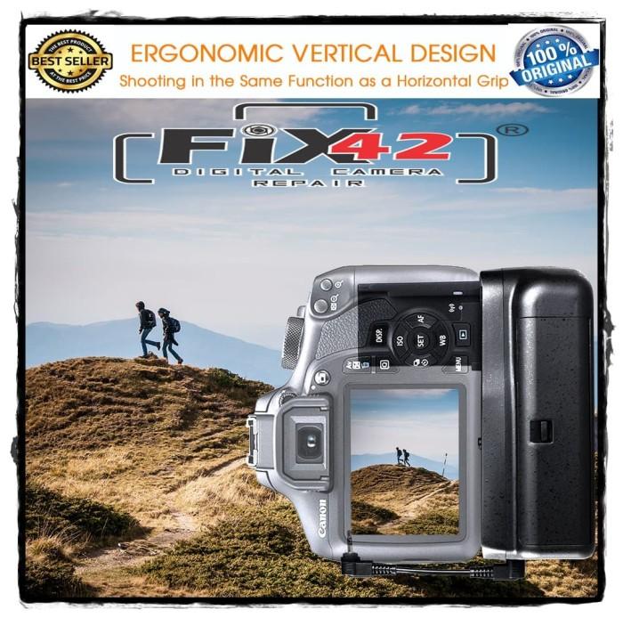 harga Battery grip canon eos 1100d 1200d 1300d rebel t3 t5 t6 kiss x50. Tokopedia.com