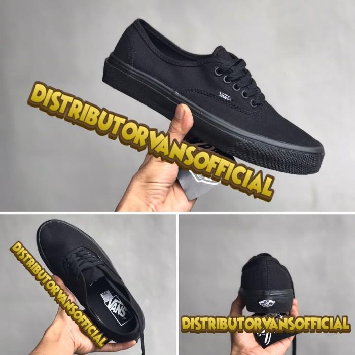 a496dae2a7 Jual Sepatu Vans Authentic Full Black Import Premium Bnib China ...