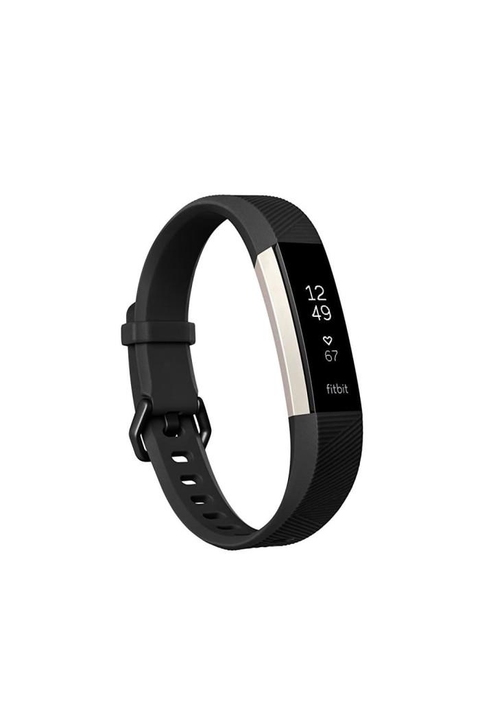 harga Fitbit alta hr black large - heart rate smartwatch fitness tracker Tokopedia.com