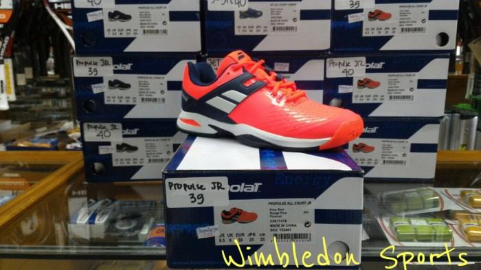 harga Sepatu babolat propulse fluo red junior / babolat propulse jr Tokopedia.com