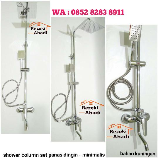 harga Shower column set / shower mandi / kran panas dingin Tokopedia.com